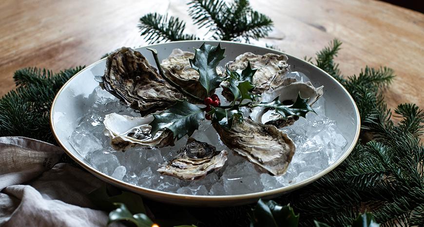 Loch Fyne rock oysters
