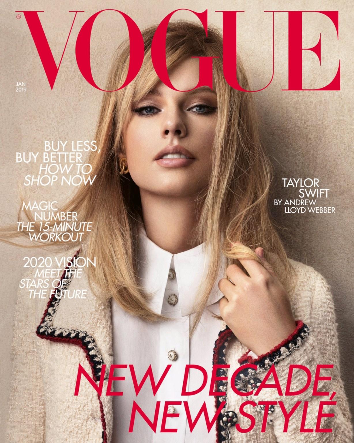 Taylor Swift Vogue magazine 2020