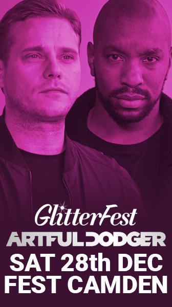 artful Dodger at the Glitterfest
