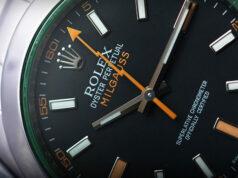 rolex milguass watch