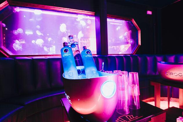 London REIGN nightclub interior