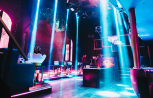 London REIGN nightclub interior