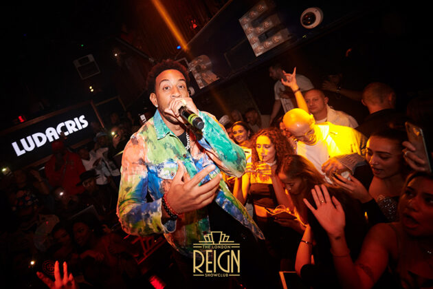 Ludacris performing at London REIGN