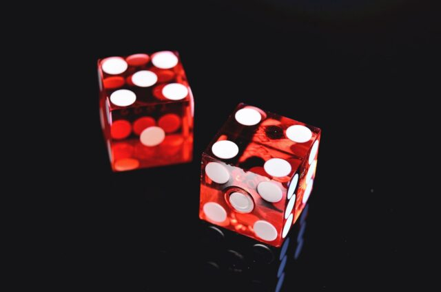 2 red dice