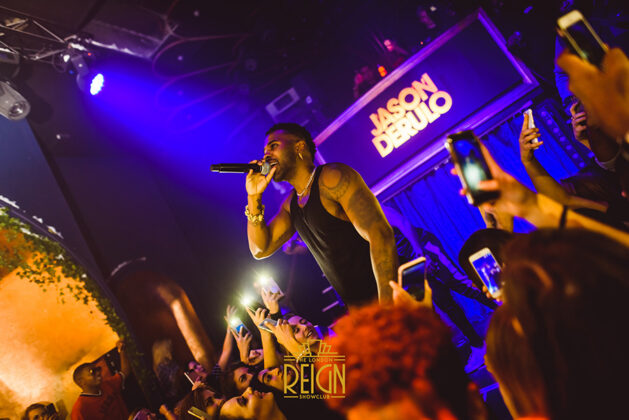 Jason Derulo performing at London REIGN