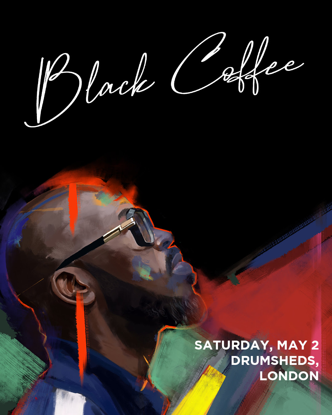black coffee london 2020 at the Drumsheds