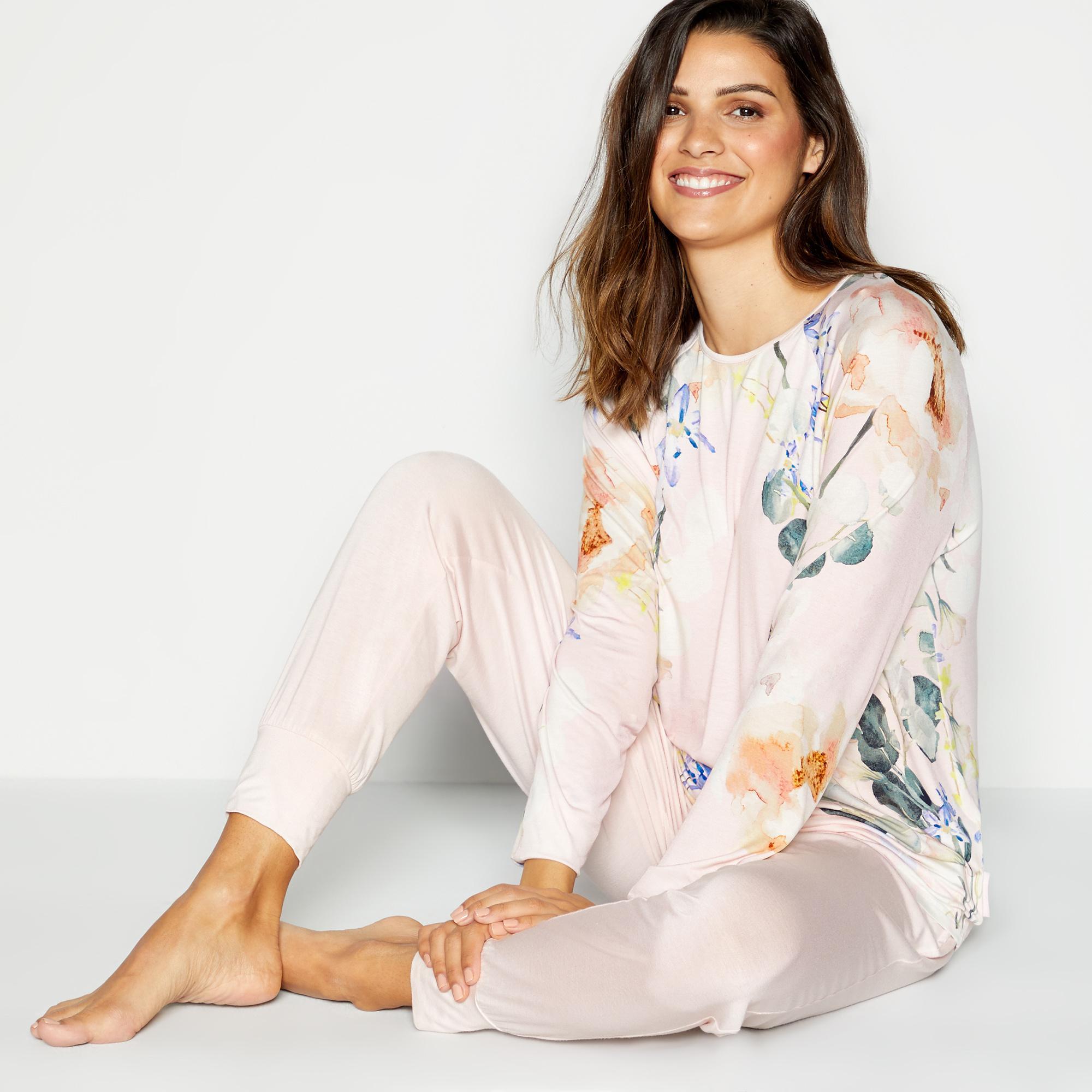 Loungewear B by Ted Baker - Pink 'Elegant' Pyjama Top