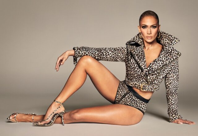 Jennifer Lopez poses in JLo Jennifer Lopez spring-summer 2020 campaign