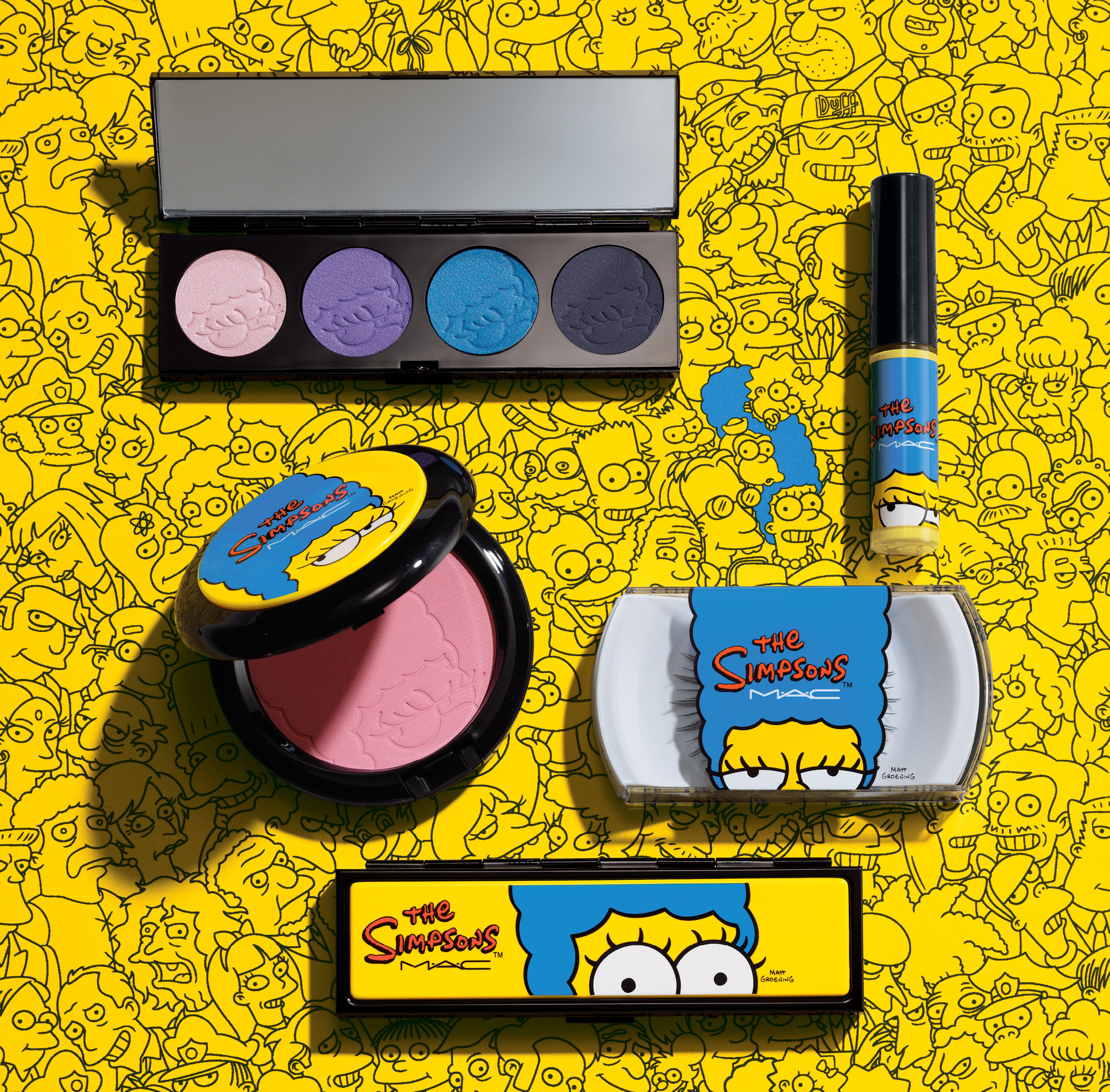 MAC Makeup - The Simpsons collection