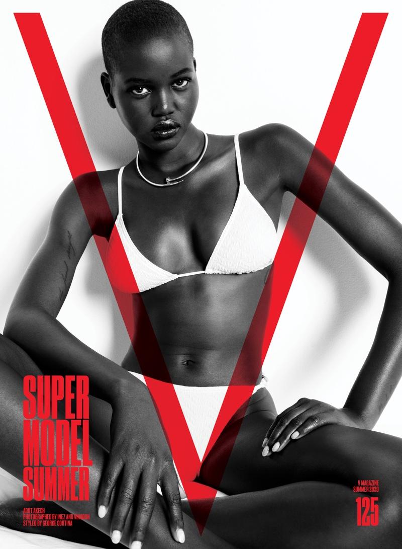 Adut Akech on V Magazine