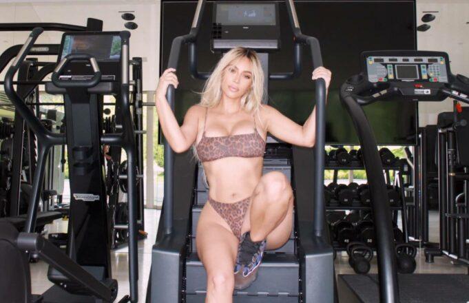 Kim K Leopard Print Bikini