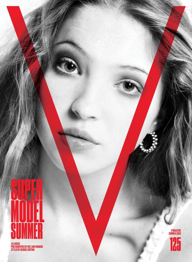 Lila Moss on V Magazine
