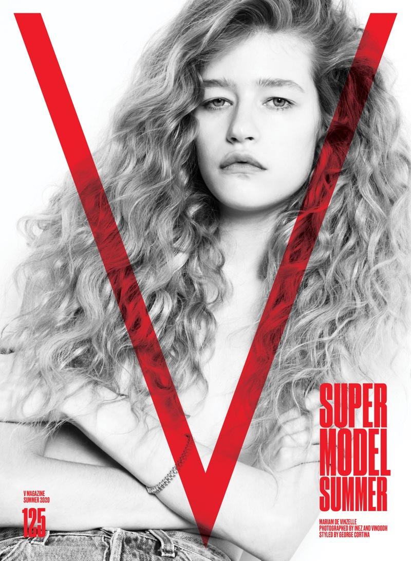 Mariam de Vinzelle on V Magazine