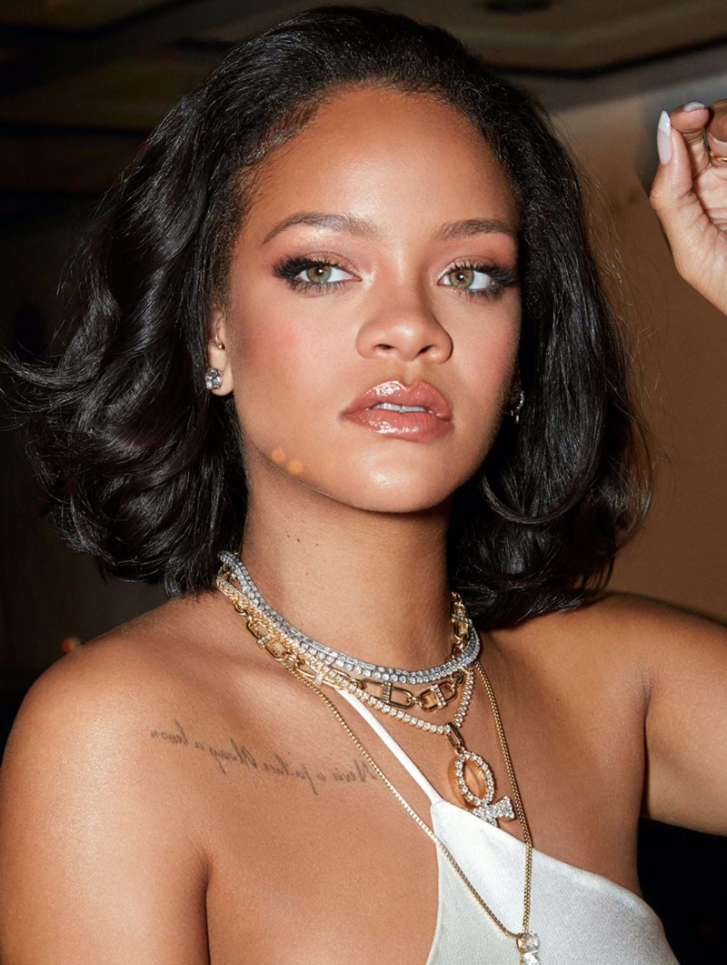 Rihanna stars in Fenty Beauty Cheeks Out Freestyle Cream Blush campaign.