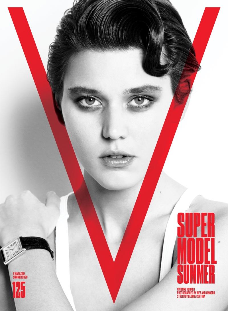 Vivenne Rohner on V Magazine