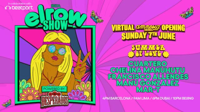 elrow to Amnesia Ibiza Virtual Opening