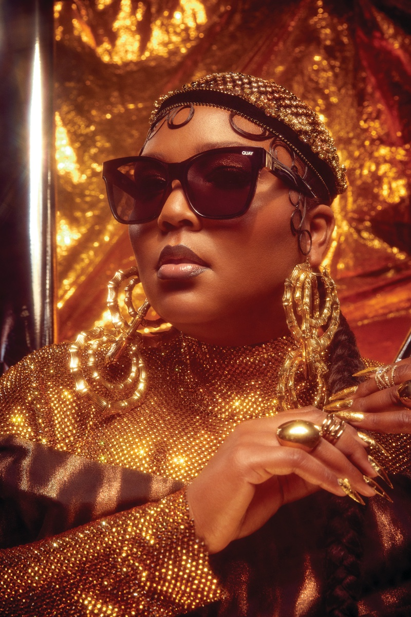 Quay Australia teams up with Lizzo on second eyewear collaboration