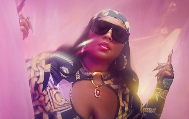 Singer Lizzo poses for second part of Quay sunglasses campaign