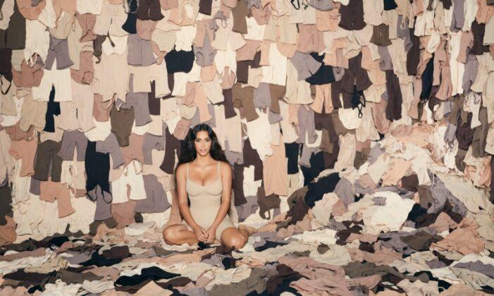 Kim Kardashian stars in SKIMS one year anniversary campaign
