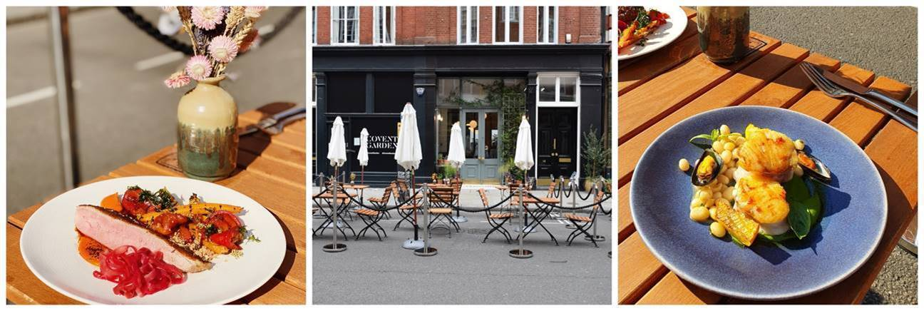 French terrace vibes at Frenchie Covent Garden