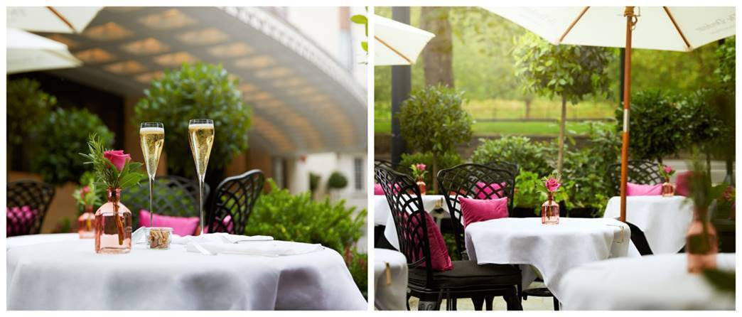 Signature cocktails and Italian flare at The Dorchester Terrace & Garden
