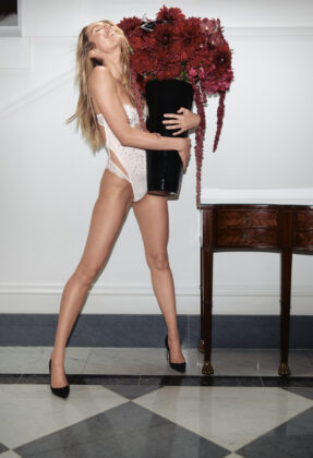Very Sexy Wicked Unlined Embellished Balconette Teddy 1