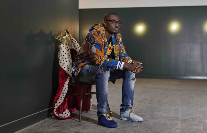 Franklin Boateng King of trainers