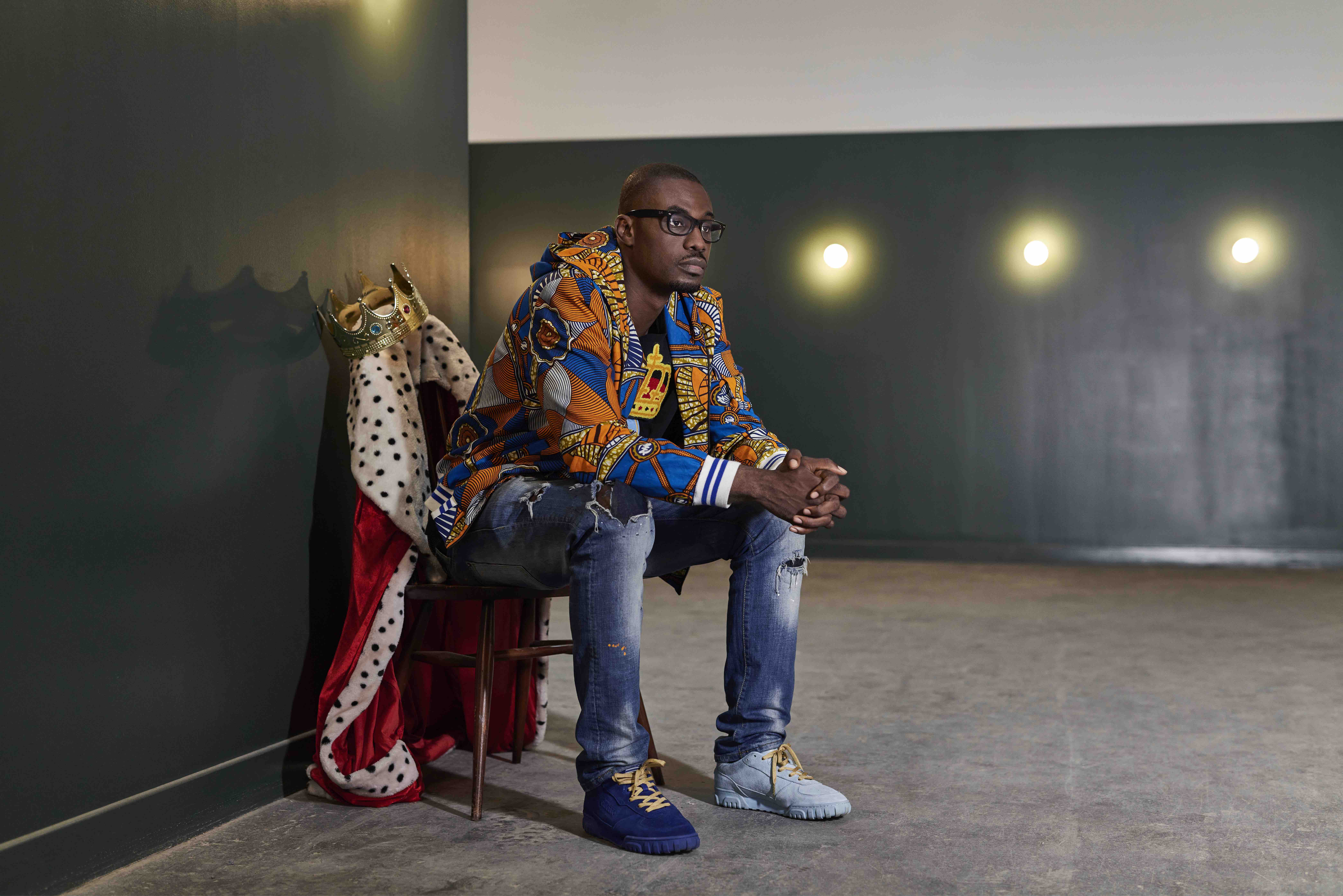 Franklin Boateng, the King of Trainers
